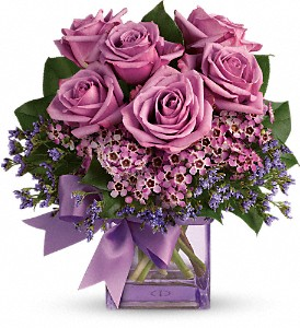 Teleflora's Morning Melody in Innisfail AB, Lilac & Lace Floral Design