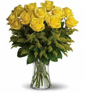 Rosy Glow Bouquet in Spring TX, A Yellow Rose Floral Boutique
