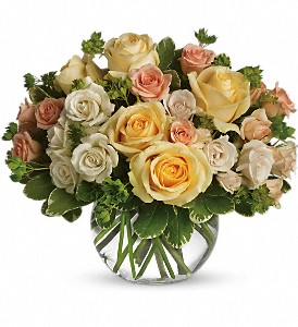 This Magic Moment in Largo FL, Rose Garden Florist