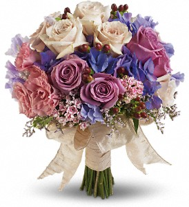 Country Rose Bouquet in San Jose CA, Almaden Valley Florist
