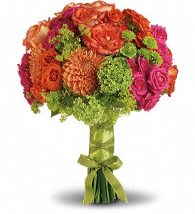 Bright Love Bouquet in DeKalb IL, Glidden Campus Florist & Greenhouse
