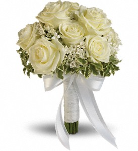Lacy Rose Bouquet in Kelowna BC, Burnetts Florist & Gifts