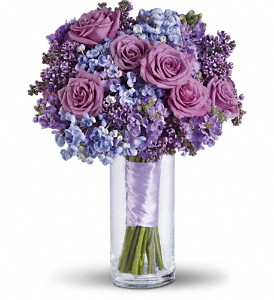 Lavender Heaven Bouquet in DeKalb IL, Glidden Campus Florist & Greenhouse