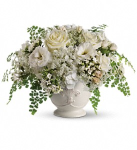 Teleflora's Napa Valley Centerpiece in Woodland Hills CA, Abbey's Flower Garden