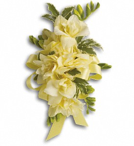 Let Love Shine Corsage in Thornhill ON, Wisteria Floral Design