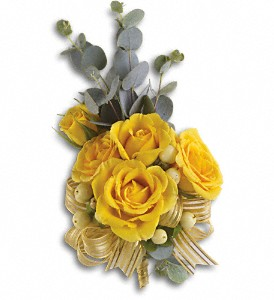 Sunswept Corsage in Peoria IL, Flowers & Friends Florist