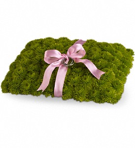 Ringbearer's Pillow in Thornhill ON, Wisteria Floral Design