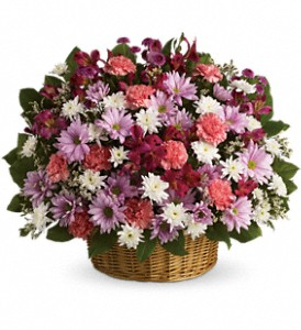 Rainbow Reflections Basket in Big Rapids, Cadillac, Reed City and Canadian Lakes MI, Patterson's Flowers, Inc.