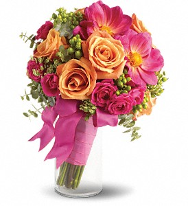 Passionate Embrace Bouquet in Mystic CT, The Mystic Florist Shop