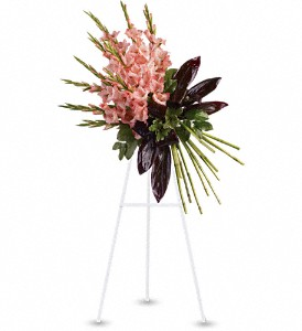 Elegant Tribute Spray in Arcata CA, Country Living Florist & Fine Gifts