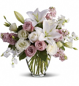 Isn't It Romantic in Dubuque IA, New White Florist