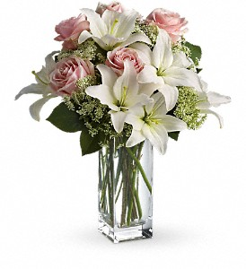 Teleflora's Heavenly and Harmony in Bakersfield CA, White Oaks Florist