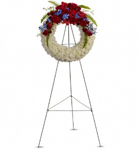 Reflections of Glory Wreath in Silver Spring MD, Bell Flowers, Inc