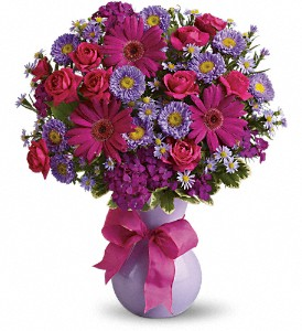 Teleflora's Joyful Jubilee in Amherst & Buffalo NY, Plant Place & Flower Basket