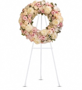 Peace Eternal Wreath in Phoenix AZ, foothills floral gallery