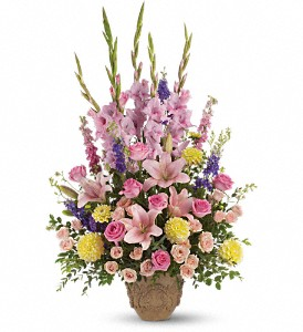 Ever Upward Bouquet by Teleflora in Northfield MN, Forget-Me-Not Florist