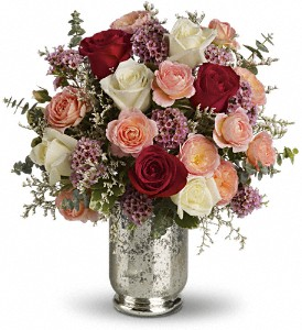 Teleflora's Always Yours Bouquet in San Mateo CA, Dana's Flower Basket