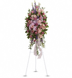 Finest Farewell Spray in Benton Harbor MI, Crystal Springs Florist