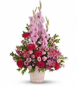 Heavenly Heights Bouquet in Modesto, Riverbank & Salida CA, Rose Garden Florist