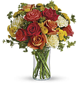 Citrus Kissed in Palos Heights IL, Chalet Florist