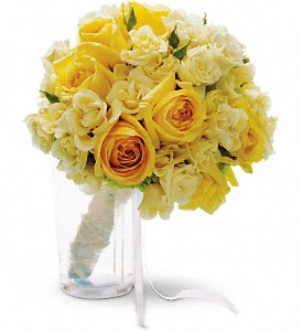 Sweet Sunbeams Bouquet in Santa Monica CA, Edelweiss Flower Boutique