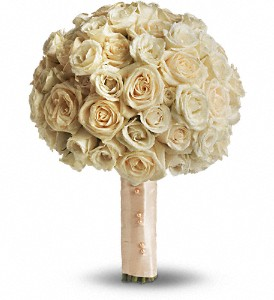 Blush Rose Bouquet in Santa Monica CA, Edelweiss Flower Boutique