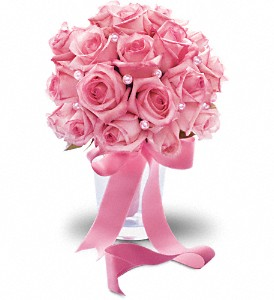 Pink Sorbet Bouquet in Aston PA, Minutella's Florist