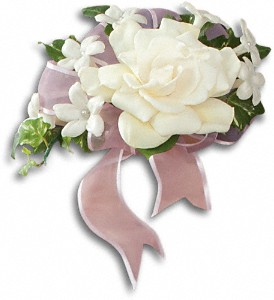 Fragrant Gardenia Nosegay in Manotick ON, Manotick Florists