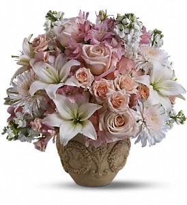Teleflora's Garden of Memories in Hilton NY, Justice Flower Shop