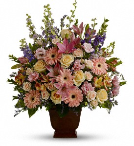 Teleflora's Loving Grace in Mount Morris MI, June's Floral Company & Fruit Bouquets