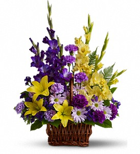 Basket of Memories in Tulsa OK, Burnett's Flowers & Designs