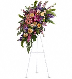 Heavenly Grace Spray in Thornhill ON, Wisteria Floral Design