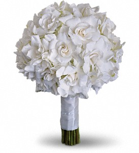 Gardenia and Grace Bouquet in Fort Worth TX, TCU Florist