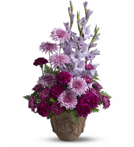 Teleflora's Heartfelt Memories in Thornhill ON, Wisteria Floral Design