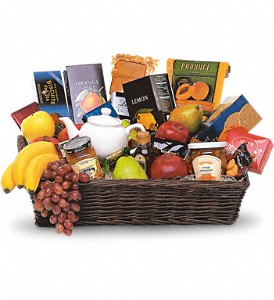 Grande Gourmet Fruit Basket in Tulsa OK, The Willow Tree Flowers & Gifts
