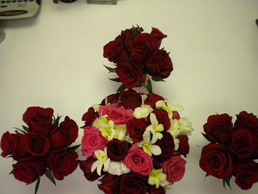 classic red roses in Bensenville IL, The Village Flower Shop