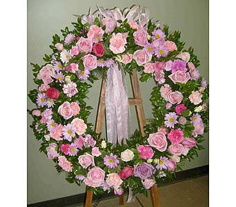 Sympathy Wreath in Utica NY, Chester's Flower Shop And Greenhouses