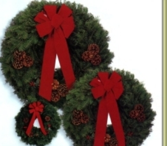 Evergreen Wreath in Grand Blanc MI, Royal Gardens