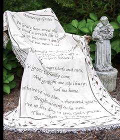 Amazing Grace - 2 Layer Throw in Southgate MI, Floral Designs By Marcia