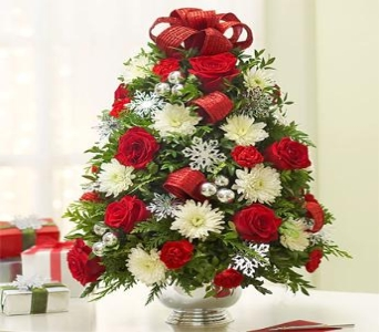 Holiday Flower Tree in Burlington NJ, Stein Your Florist