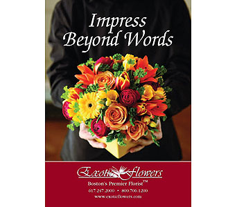 Impress Beyond Words in Boston MA, Exotic Flowers