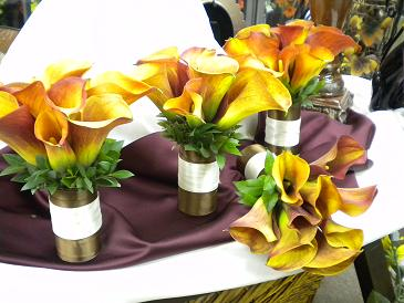 Mango Calla Lillys in Bensenville IL, The Village Flower Shop