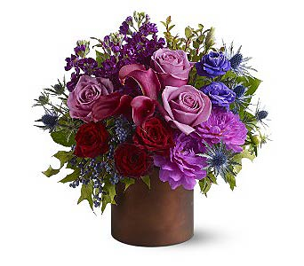Shades of Plum in Rancho Santa Fe CA, Rancho Santa Fe Flowers And Gifts
