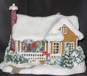 Thomas Kinkade Childhood Home cottage in Athens OH, Jack Neal Floral