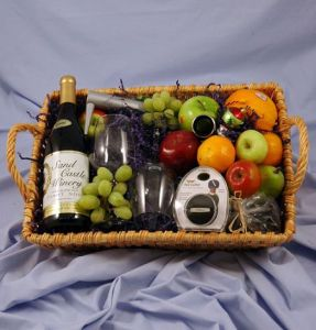 Wine Lovers Basket in Guelph ON, Patti's Flower Boutique
