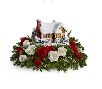 Thomas Kinkade's Childhood Home by Teleflora  in Woodbridge VA, Brandon's Flowers