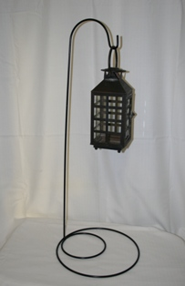 Black Lantern on Stand in Lebanon OH, Aretz Designs Uniquely Yours