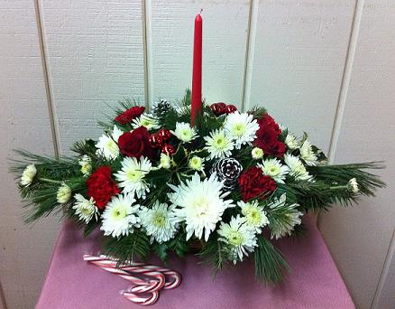Stein Christmas Centerpiece in Burlington NJ, Stein Your Florist