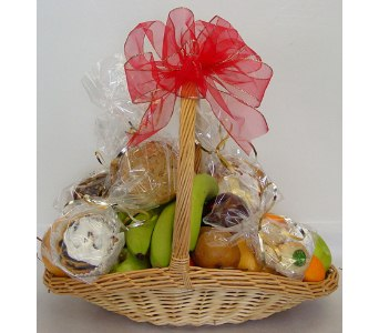 Trillium's Fruit and Pastry Basket in Amherst NY, The Trillium's Courtyard Florist