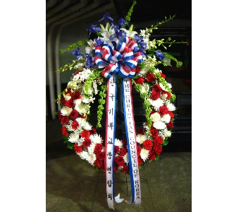 GRAND PATRIOTIC WREATH in Arlington VA, Twin Towers Florist